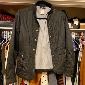 Women's Patagonia Black Button Up Jacket
